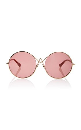 Oversized Round Sunglasses by Altuzarra sunglasses