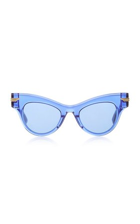 Originals Cat-Eye Acetate Sunglasses by Bottega Veneta | Moda Operandi