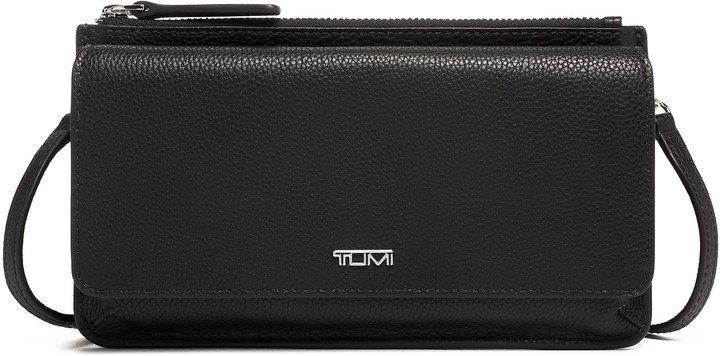 Belden Leather Wallet Crossbody Bag