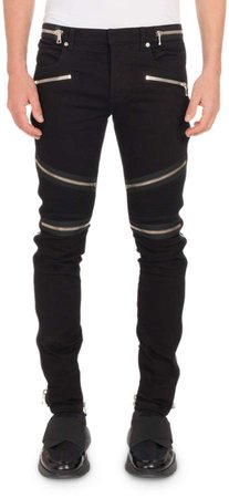 -Skinny-Jeans-with-Zip-Embellishments