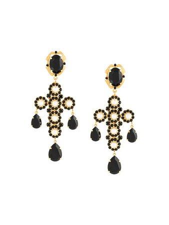 New Sadie Dolce & Gabbana Cross Clip-on Earrings - Women/Jewelry/Earring DG-901577, Great
