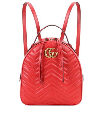 Gg Marmont Matelassé Leather Backpack - Gucci | mytheresa.com