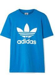 adidas Originals | Trefoil stretch-cotton jersey T-shirt | NET-A-PORTER.COM