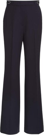 Gabriela Hearst Shipton Wool Straight-Leg Trousers