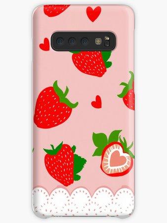Strawberry Lolita | Case & Skin for Samsung Galaxy $25.25