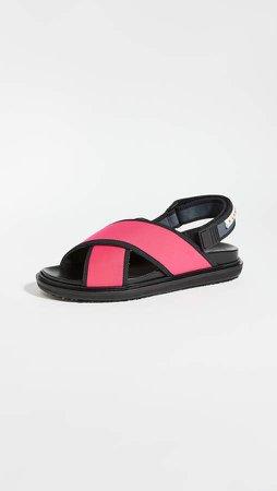 Sporty Fussbett Sandals