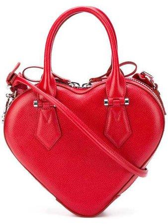 Vivienne Westwood Anglomania Johanna Heart Handbag - Farfetch