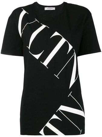 Valentino VLTN logo T-shirt $495 - Buy AW19 Online - Fast Global Delivery, Price