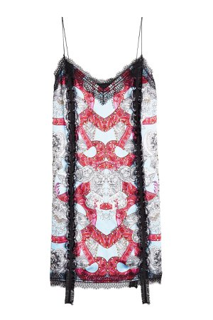 Printed Dress with Lace Gr. IT 42