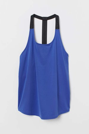 Sports Tank Top - Blue