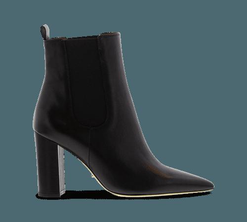Ella Black Como Ankle Boots | Boots | Tony Bianco
