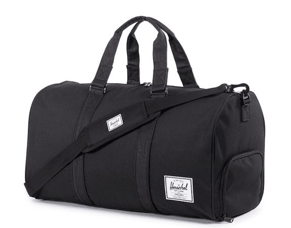 duffle bag luggage black