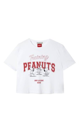 Snoopy T-shirt - Women's Just in | Stradivarius United States