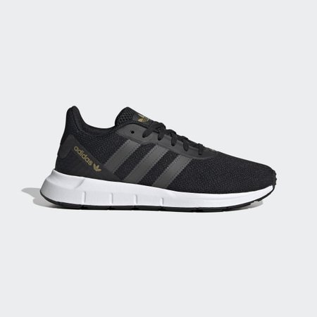 Women's Swift Run RF Core Black and Grey Shoes | adidas US