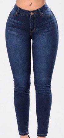 fashion nova dark denim jeans skinny blue jeggings