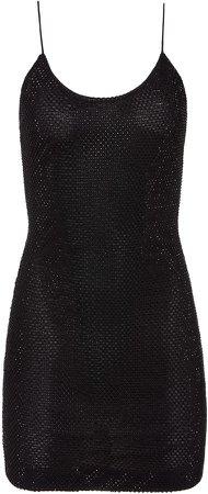 Nelle Crystal Embellished Mini Dress