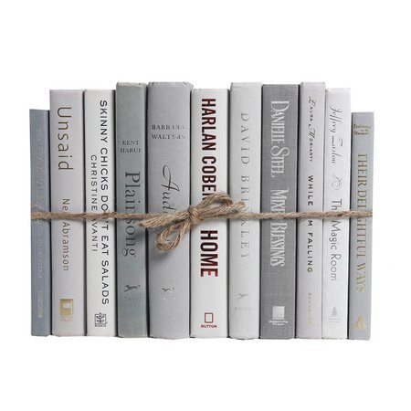 Booth & Williams Authentic Decorative Books - By Color Modern Marble ColorPak (1 Linear Foot, 10-12 Books) & Reviews | Wayfair