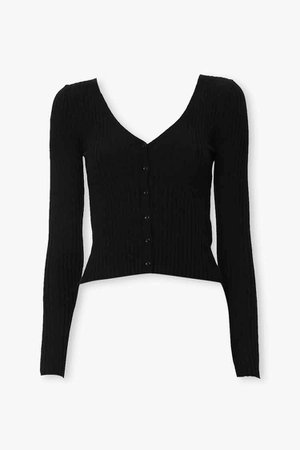 Ribbed Knit Cardigan   Forever 21