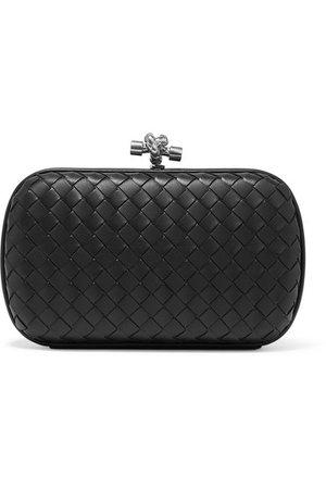 Bottega Veneta | Chain Knot intrecciato leather clutch | NET-A-PORTER.COM