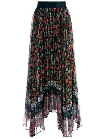 Katz Pleated Maxi Skirt | Alice And Olivia