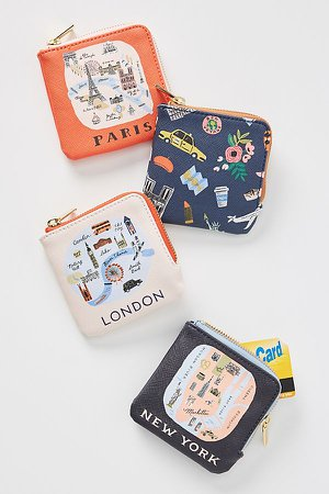 Rifle Paper Co. for Anthropologie Paris Coin Pouch | Anthropologie