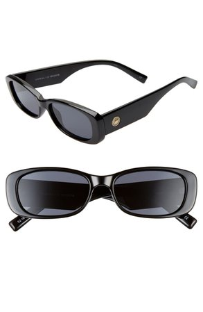Le Specs Unreal 50mm Rectangle Sunglasses   Nordstrom