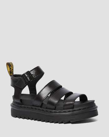 BLAIRE WOMEN'S BRANDO LEATHER GLADIATOR SANDALS | Women's Boots, Shoes & Sandals | Dr. Martens Official