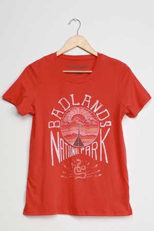 Prince Peter Badlands Tee - Red Graphic Tee - Graphic T-Shirt