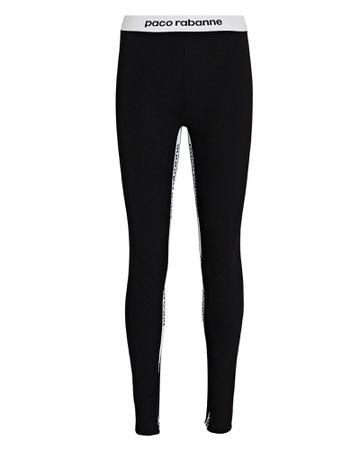Paco Rabanne Sheathing Logo Leggings | INTERMIX®