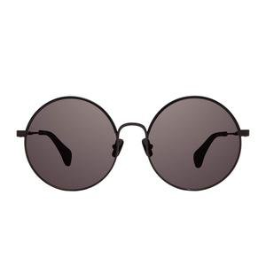 ISLA - BLACK + BLACK WRAP +GREY – DIFF Eyewear