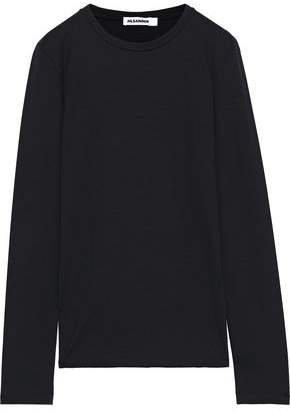 Cotton-blend Jersey Top