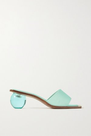 Turquoise Tao faille sandals | Cult Gaia | NET-A-PORTER