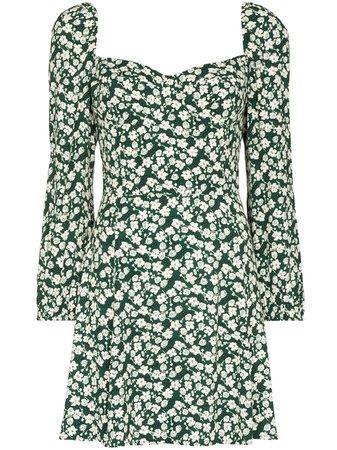 Reformation Mochi floral print mini dress - FARFETCH