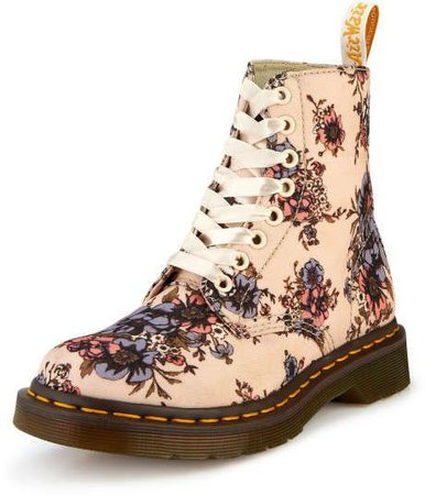 Doc Martens Floral lace up boot