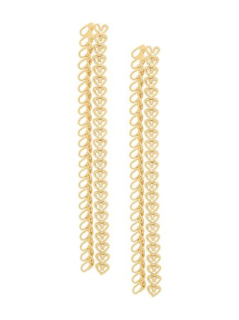 Wouters & Hendrix My Favourite Chain Earrings Ss20   Farfetch.com