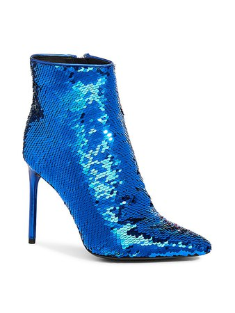 Alice + Olivia Celyn Sequin Booties on SALE | Saks OFF 5TH