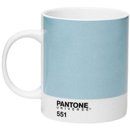 blue pantone mug
