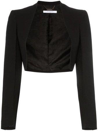 GIVENCHY wool blend bolero jacket
