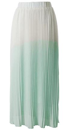 Mint Ombre Skirt 1