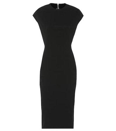 Sphynx cotton-blend midi dress