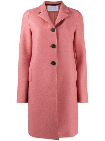 Harris Wharf London Single Breasted Coat - Farfetch