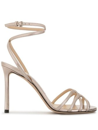 Jimmy Choo Mimi 100 Sandals - Farfetch