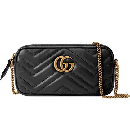 Gucci Mini GG Marmont 2.0 Matelassé Leather Shoulder Bag   Nordstrom