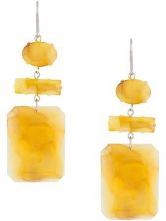 Isabel Marant stone drop earrings - FARFETCH