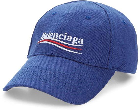 Political Embroidered Logo Baseball Cap