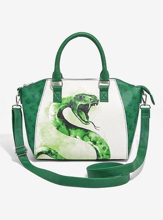 Loungefly Harry Potter Slytherin Satchel Bag