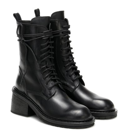 Leather Ankle Boots - Ann Demeulemeester   Mytheresa