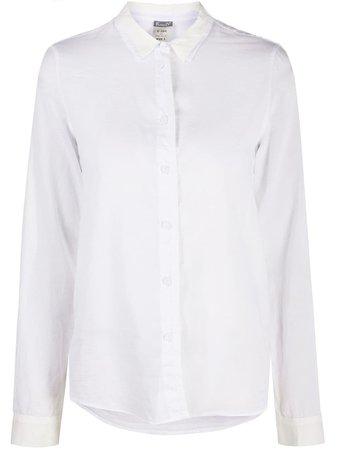 Kristensen Du Nord Однотонная Приталенная Рубашка - Farfetch