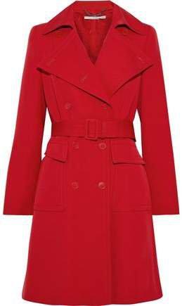 Erika Wool-gabardine Trench Coat