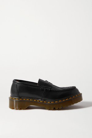 Dr. Martens Leather Loafers - Black